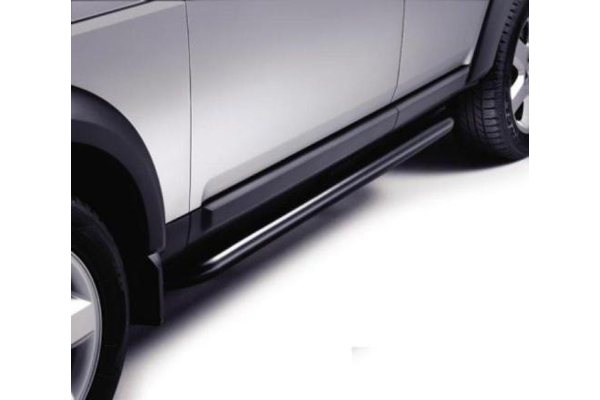Genuine Land Rover Discovery 3 05-09 Black Side Protection Tubes